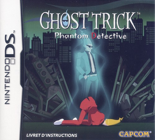 Capcom, Ghost Trick: Phantom Detective, Video Game Cover