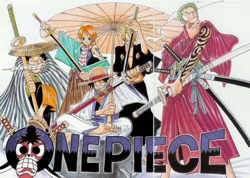 Eiichiro Oda, One Piece, Color Walk 1, Monkey D. Luffy, Nami
