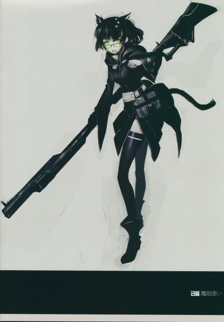huke, Black Rock Shooter, Demon Cannon User