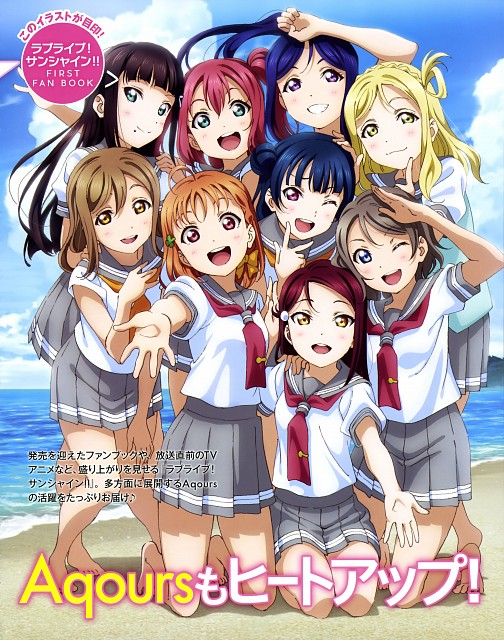 Sunrise (Studio), Love Live! Sunshine!!, Riko Sakurauchi, Dia Kurosawa, Mari Ohara