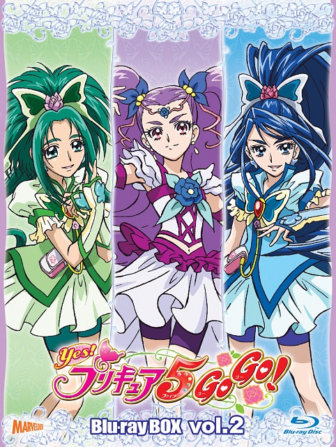 Toei Animation, Yes! Precure 5, Milky Rose, Cure Aqua, Cure Mint