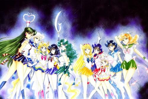 Naoko Takeuchi, Bishoujo Senshi Sailor Moon, BSSM Original Picture Collection Vol. III, Sailor Jupiter, Sailor Neptune