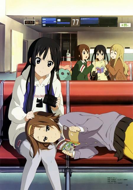 Hiroko Utsumi, Kyoto Animation, K-On!, Yui Hirasawa, Ritsu Tainaka