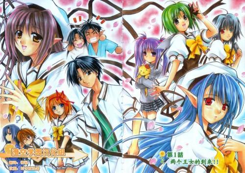 Shiroi Kusaka, Shuffle!, Asa Shigure, Mayumi Thyme, Nerine