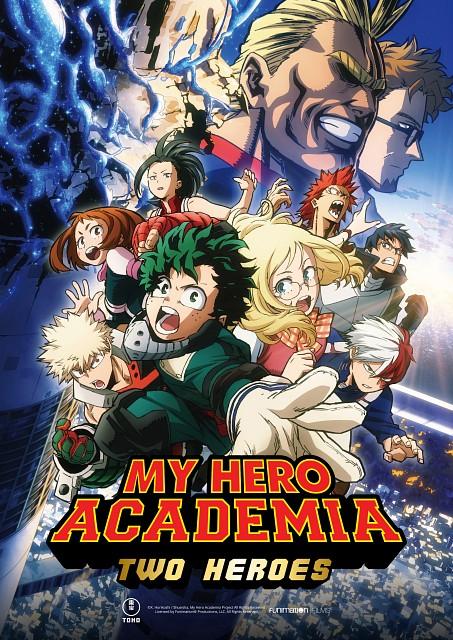 Kouhei Horikoshi, BONES, Boku no Hero Academia, Tenya Iida, Ochako Uraraka