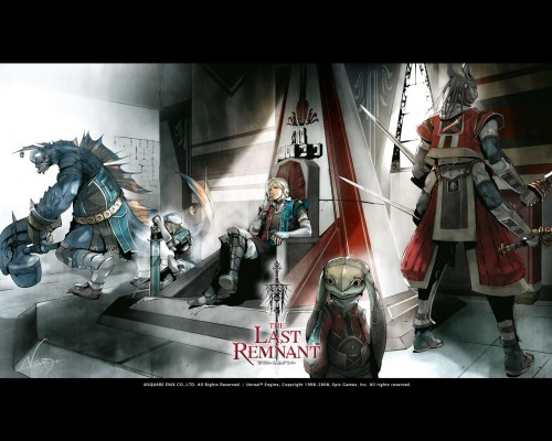 Square Enix, The Last Remnant, Pagus, Blocter, David Nassau