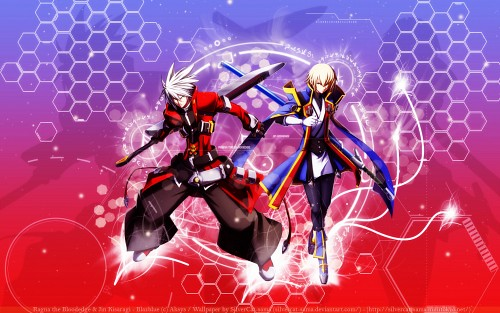 Aksys, Blazblue, Ragna the Bloodedge, Jin Kisaragi Wallpaper