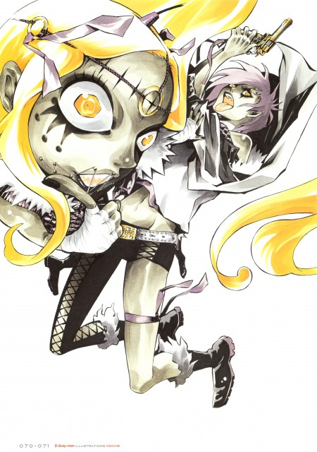 Katsura Hoshino, D Gray-Man, Noche - D.Gray-man Illustrations, Jasdero, Devit