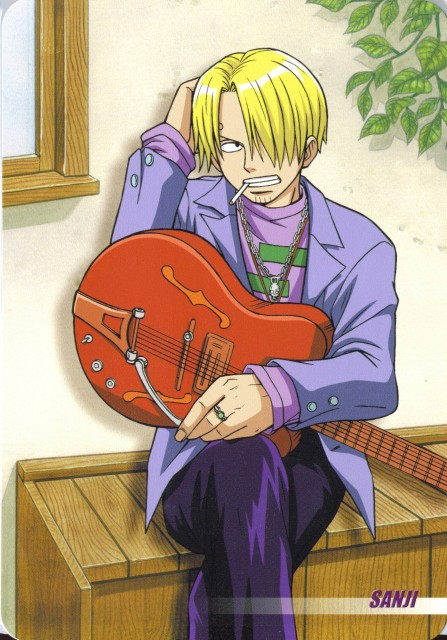 Eiichiro Oda, One Piece, Sanji