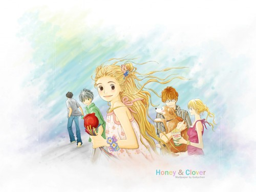 Honey and Clover Wallpaper