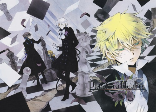 Jun Mochizuki, Xebec, Pandora Hearts, Jack Vessalius, Xerxes Break