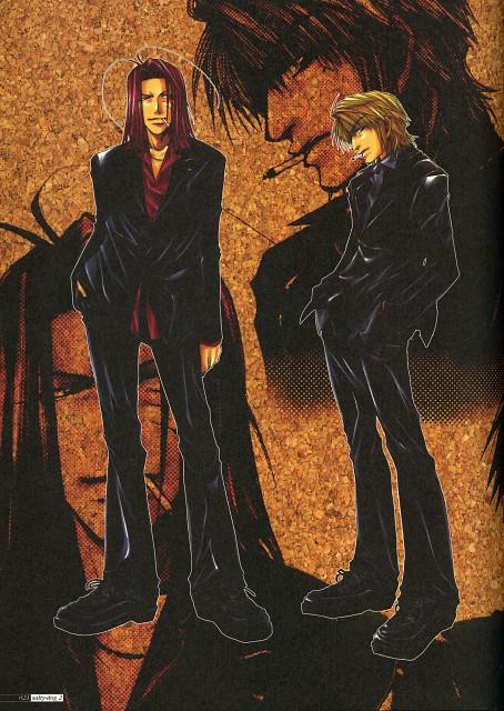 Kazuya Minekura, Studio Pierrot, Saiyuki, Salty Dog II, Genjyo Sanzo