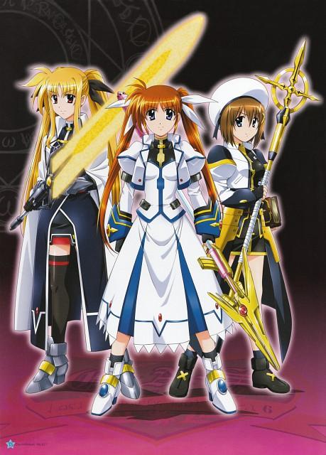 Seven Arcs, Mahou Shoujo Lyrical Nanoha StrikerS, MSLN StrikerS Visual Collection 2, Fate Testarossa, Nanoha Takamachi