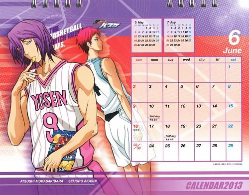 Tadatoshi Fujimaki, Production I.G, Kuroko no Basket, Kuroko no Basket 2013 Anime Calendar, Seijuro Akashi