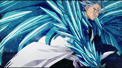 Kubo Tite, Studio Pierrot, Bleach, Toshiro Hitsugaya, Vector Art Wallpaper
