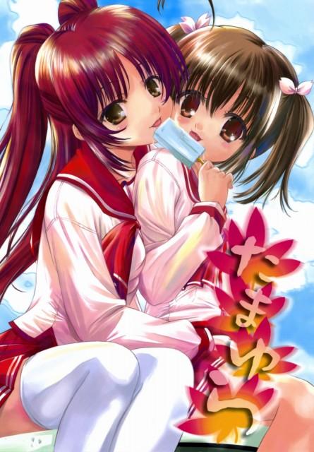 AQUAPLUS, To Heart 2, Konomi Yuzuhara, Tamaki Kousaka, Doujinshi Cover