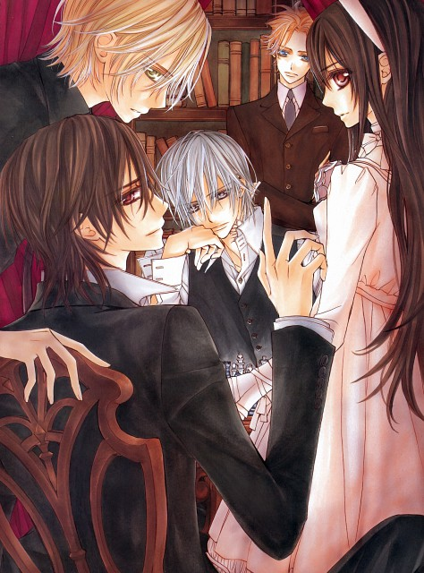 Matsuri Hino, Vampire Knight, Hino Matsuri Illustrations: Vampire Knight, Hanabusa Aidou, Yuuki Cross