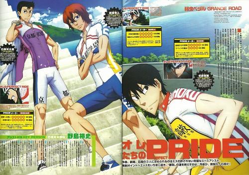 Wataru Watanabe, TMS Entertainment, Yowamushi Pedal, Shunsuke Imaizumi, Hayato Shinkai