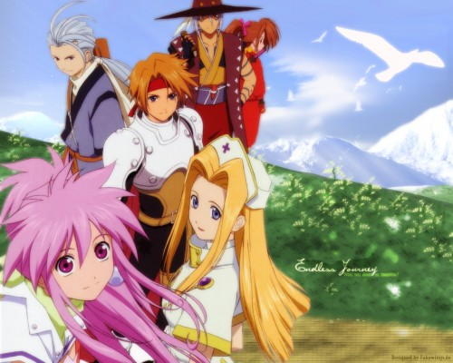 Namco, Tales of Phantasia, Mint Adnade, Arche Klaine, Klarth F. Lester Wallpaper
