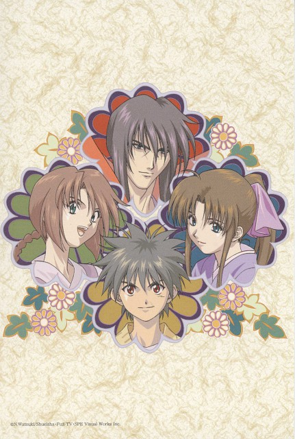 Nobuhiro Watsuki, Studio Gallop, Studio Deen, Rurouni Kenshin, Yahiko Myoujin