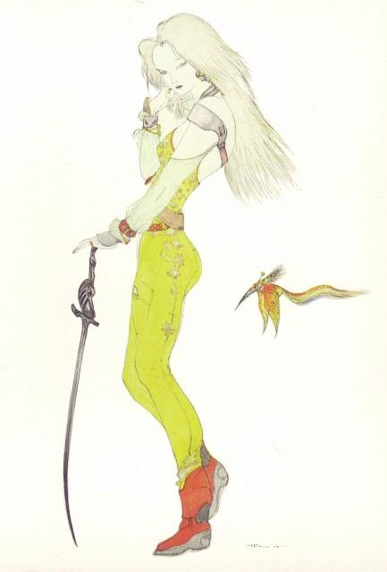 Yoshitaka Amano, Square Enix, Final Fantasy IX Postcard Book, Final Fantasy IX, Garnet Til Alexandros XVII