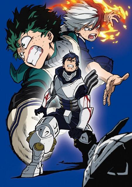 Kouhei Horikoshi, BONES, Boku no Hero Academia, Shouto Todoroki, Tenya Iida