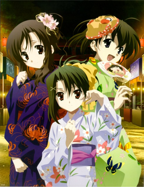 TNK, Overflow, School Days, Setsuna Kiyora, Sekai Saionji