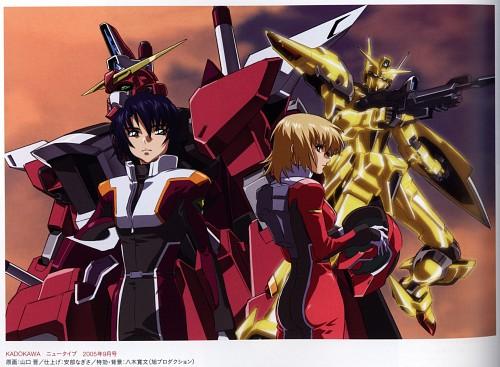 Hisashi Hirai, Sunrise (Studio), Mobile Suit Gundam SEED Destiny, Athrun Zala, Cagalli Yula Athha