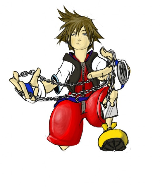Square Enix, Kingdom Hearts, Sora, Member Art