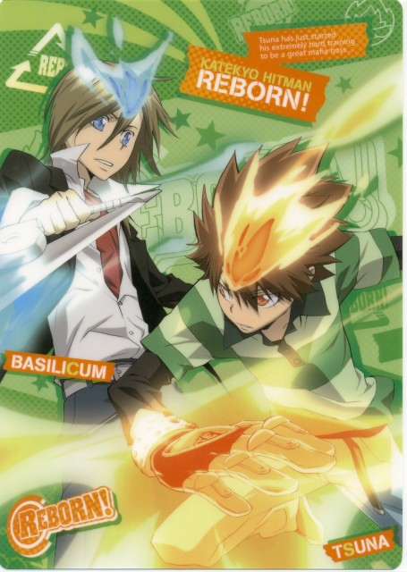Akira Amano, Katekyo Hitman Reborn!, Basil, Tsunayoshi Sawada