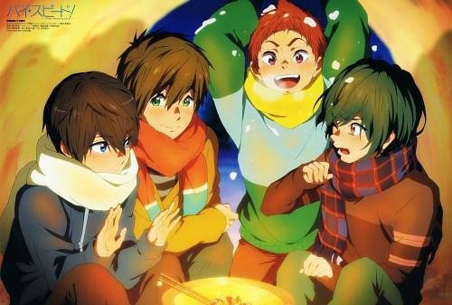 Sae Sawada, Kyoto Animation, Free!, Ikuya Kirishima, Haruka Nanase (Free!)