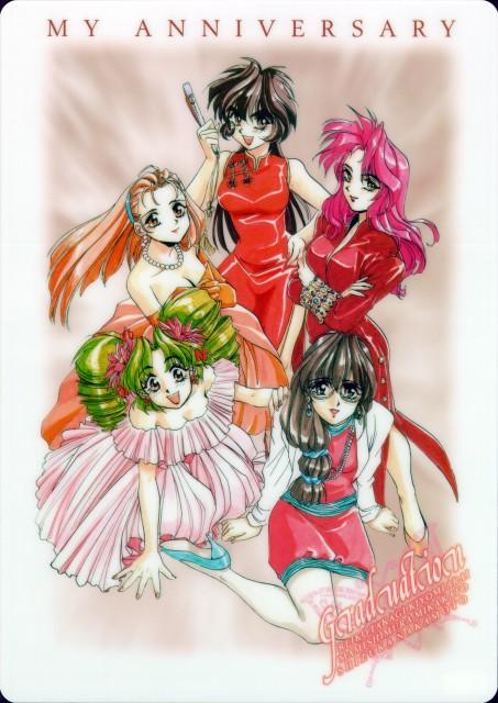 Bandai Visual, Sotsugyou: Graduation, Mami Shimura, Kiyomi Arai, Shizuka Nakamoto