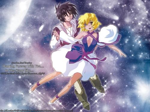 RGB, Mobile Suit Gundam SEED Destiny, Stellar Loussier, Shinn Asuka Wallpaper