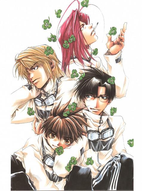 Kazuya Minekura, Studio Pierrot, Saiyuki, Backgammon 3, Son Goku (Saiyuki)
