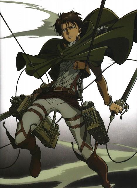 Hajime Isayama, Production I.G, Shingeki no Kyojin, Levi Ackerman