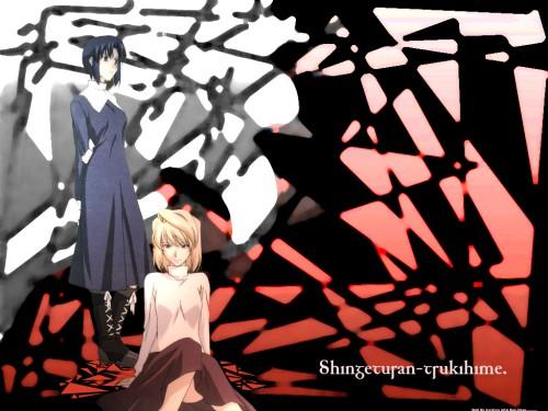 TYPE-MOON, Shingetsutan Tsukihime, Arcueid Brunestud, Ciel (Shingetsutan Tsukihime) Wallpaper