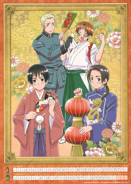 Hidekaz Himaruya, Studio DEEN, Hetalia: Axis Powers, China, Italy