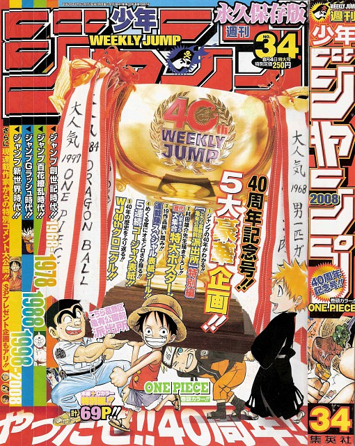 Eiichiro Oda, Masashi Kishimoto, Kubo Tite, Osamu Akimoto, Naruto