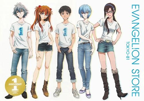 Gainax, Khara, Neon Genesis Evangelion, Kaworu Nagisa, Shinji Ikari