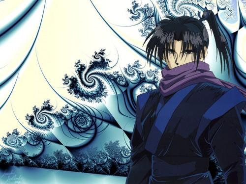 Rurouni Kenshin, Aoshi Shinomori Wallpaper