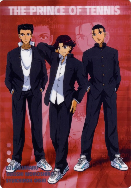 Takeshi Konomi, J.C. Staff, Prince of Tennis, Eiji Kikumaru, Takeshi Momoshiro