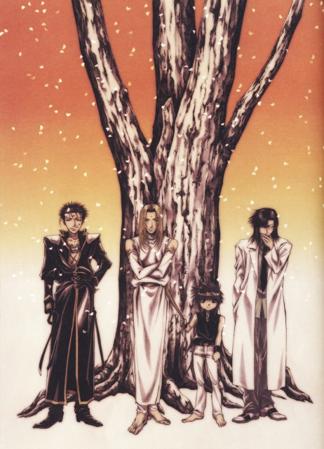 Kazuya Minekura, Saiyuki Gaiden, Salty Dog V, Son Goku (Saiyuki), Tenpou Gensui