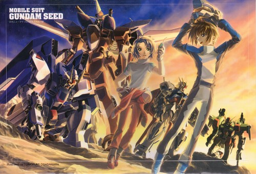 Hisashi Hirai, RGB, Sunrise (Studio), Mobile Suit Gundam SEED, Kira Yamato