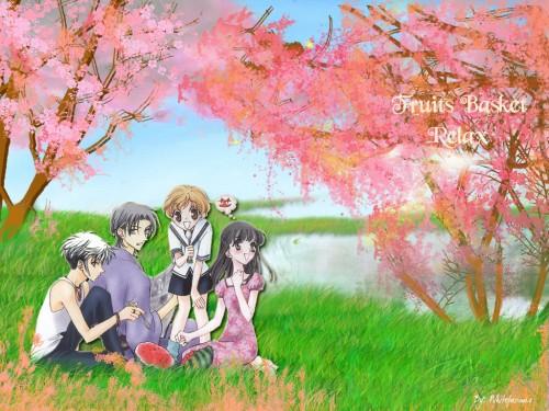 Natsuki Takaya, Fruits Basket, Momiji Sohma, Shigure Sohma, Hatsuharu Sohma Wallpaper