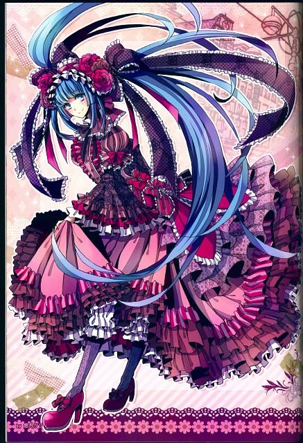 Lily Houzuki, Vocalolita, Vocaloid, Miku Hatsune, Doujinshi