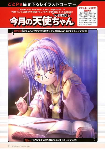 Goto-P, P.A. Works, Key (Studio), Angel Beats!, Kanade Tachibana