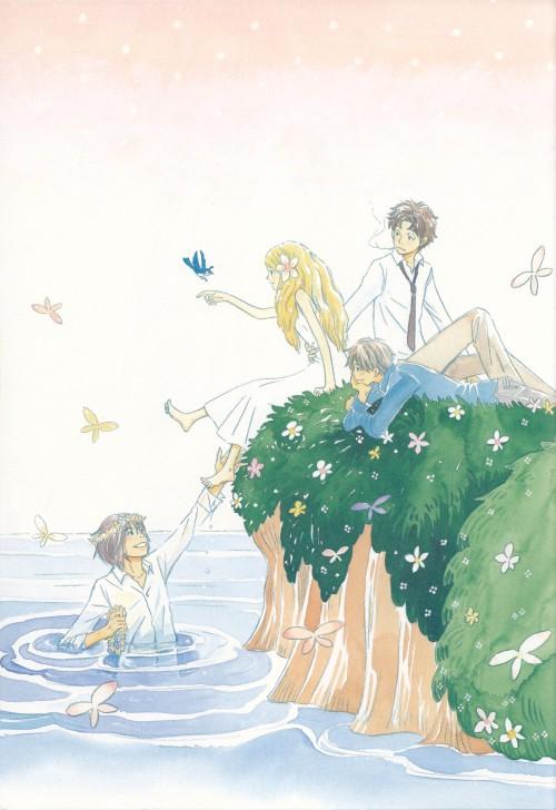 Chika Umino, Honey and Clover, Yuuta Takemoto, Hagumi Hanamoto