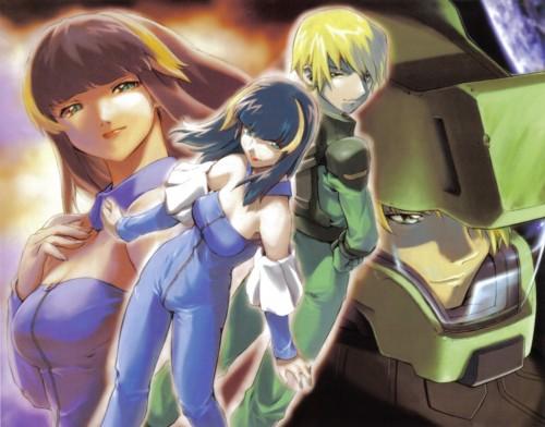 RGB, Sunrise (Studio), Mobile Suit Gundam SEED, Miguel Aiman, Aisha (Gundam SEED)