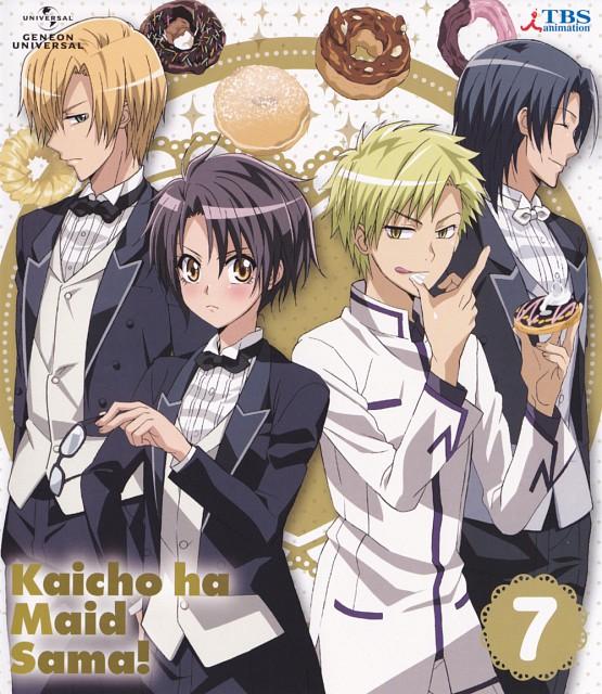 Hiro Fujiwara, J.C. Staff, Kaichou wa Maid-sama!, Takumi Usui, Kanade Maki