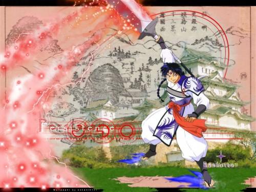 Rumiko Takahashi, Inuyasha, Bankotsu Wallpaper